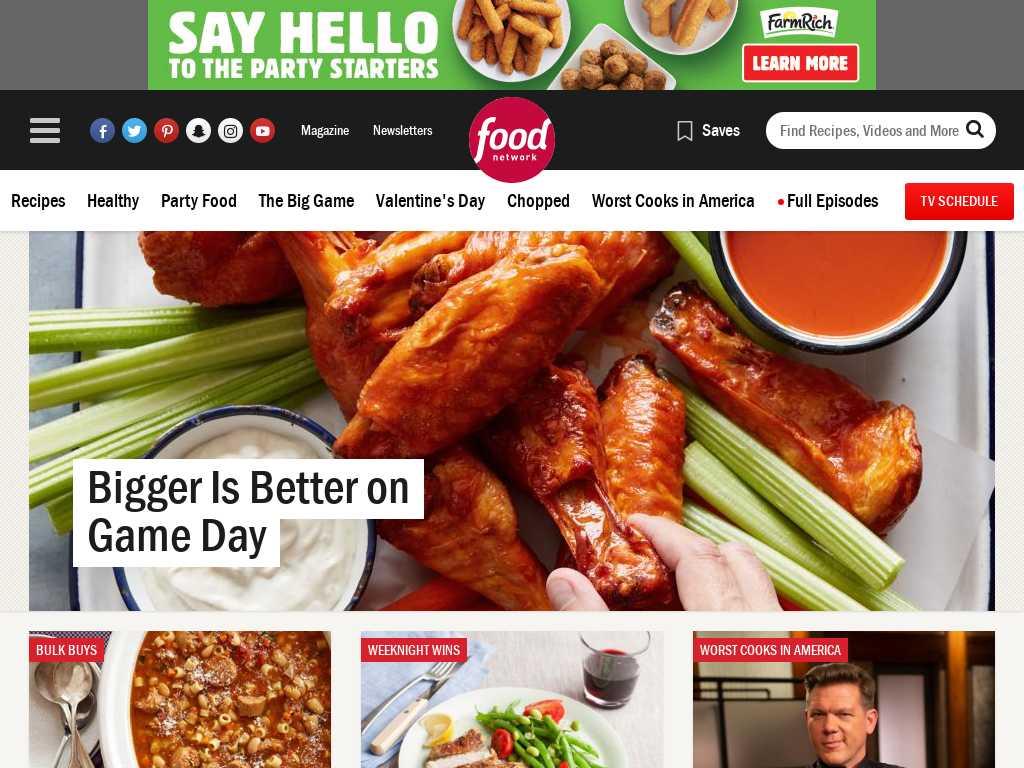 Food Network Latest News Tracxn