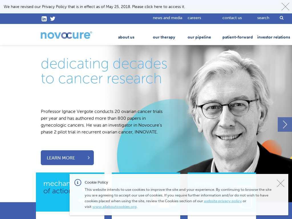 Novocure Latest News Tracxn