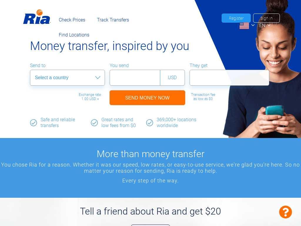 Ria Money Latest News Tracxn